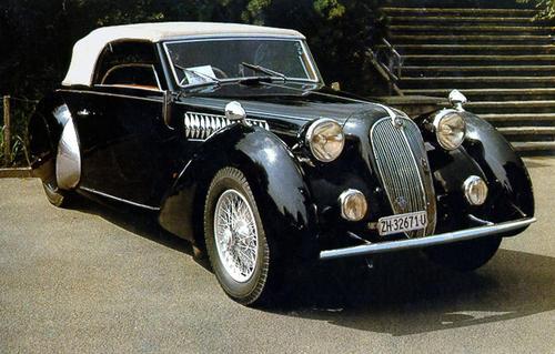1938 Worblaufen Alfa Romeo 6C 2300 B Cabriolet b