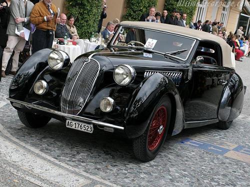 1938 Worblaufen Alfa Romeo 6C 2300 B Cabriolet d
