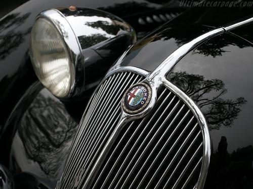 1938 Worblaufen Alfa Romeo 6C 2300 B Cabriolet f