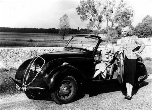 1939 peugeot 202 cab