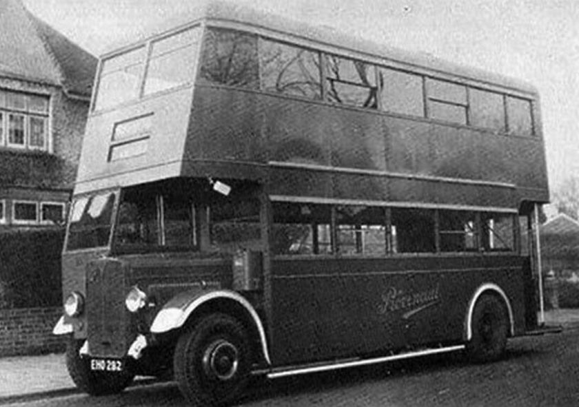 1943 AEC Regal-Regent I EHO-282 Reading H