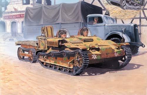 1944 French Renault UE Chenillette