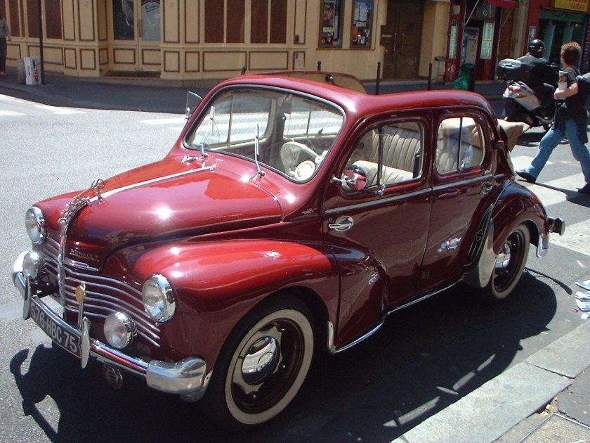 1945 4CV Renault