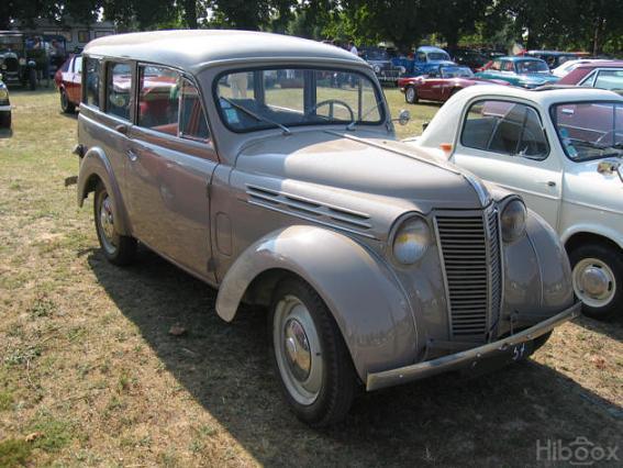 1945 Renault Juvaquatre Dauphinoise Break