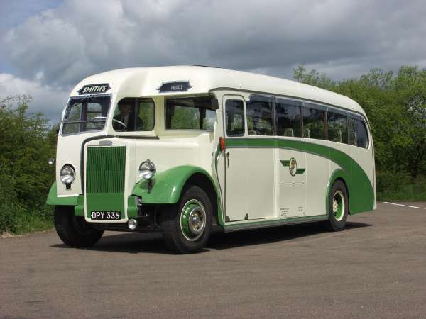 1946 Leyland Tiger Plaxton body