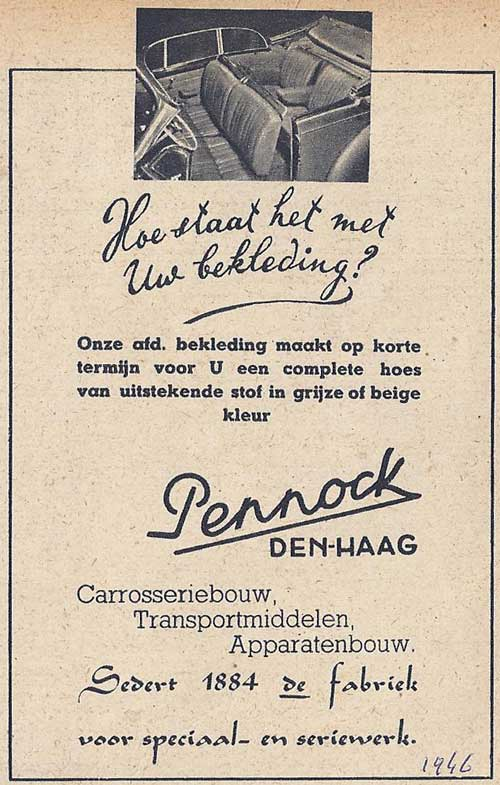 1946 Pennock-1946--bekleding