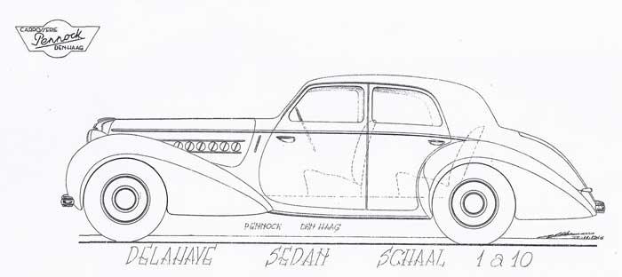 1946 Pennock-Delahaye-Sedan-1946-11