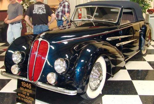 1946 Worblaufen Delahaye 135M Drophead Coupe a