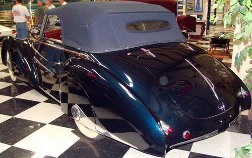 1946 Worblaufen Delahaye 135M Drophead Coupe b