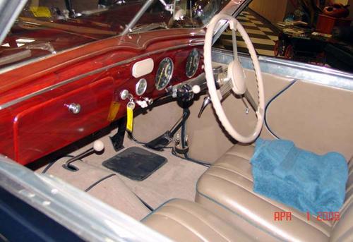 1946 Worblaufen Delahaye 135M Drophead Coupe c