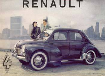 1947-61 Renault 4 CV