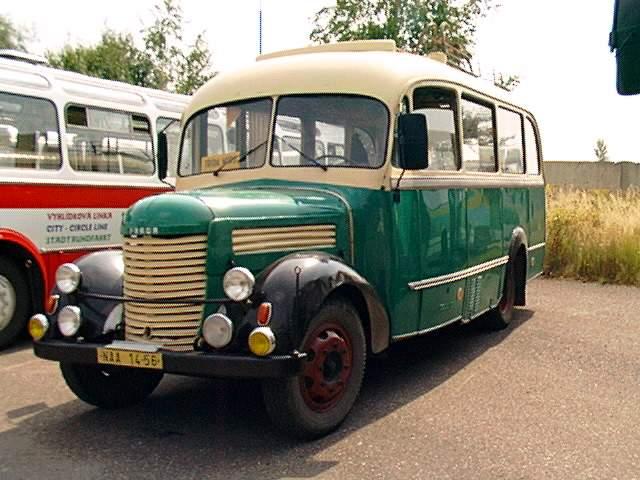 1947 Autobus PRAGA, RND