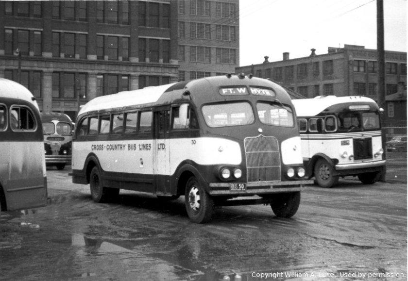 1947 Prevost CCBL 30 Winnipeg