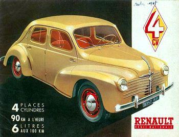 1947 renault 1947 4cv13240HR