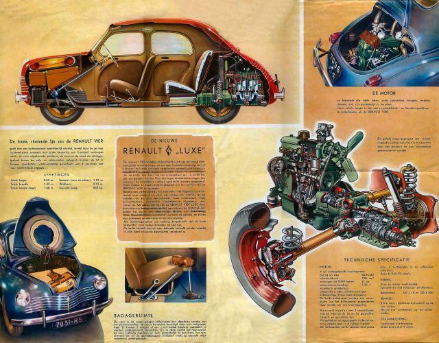 1947 Renault 4