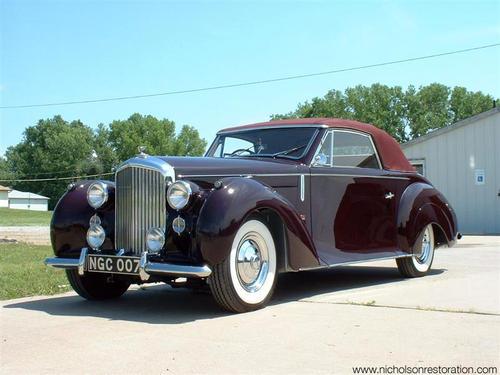 1947 Worblaufen Bentley Mk VI a
