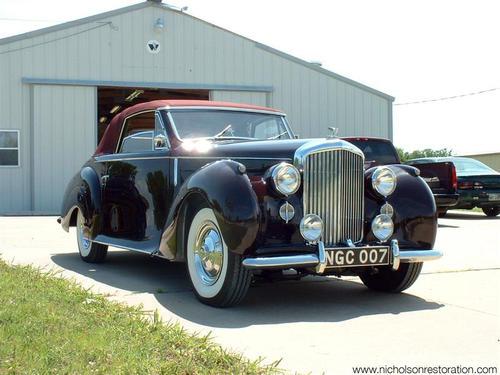 1947 Worblaufen Bentley Mk VI d