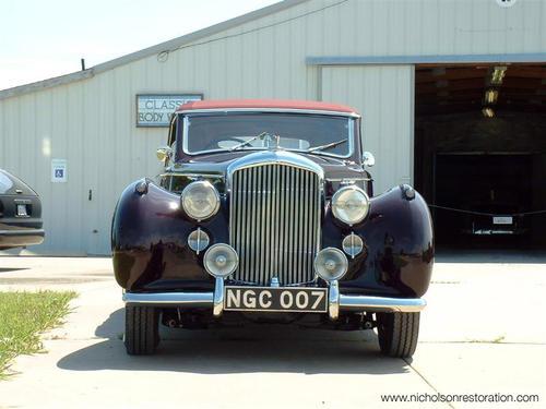 1947 Worblaufen Bentley Mk VI e