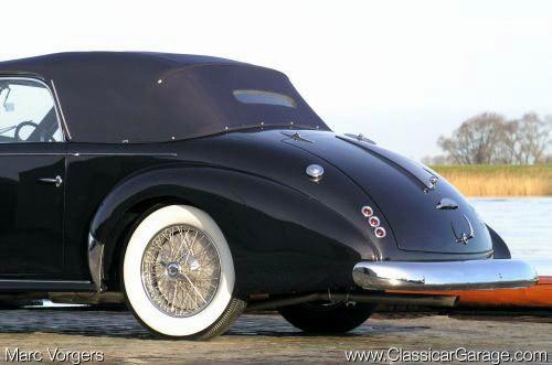 1947 Worblaufen Talbot Lago T26 Record r