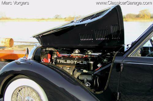 1947 Worblaufen Talbot Lago T26 Record za