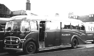 1948 AEC Regal lll 9621E418 Plaxton ha324z