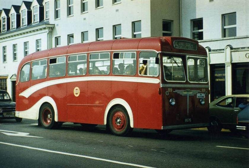 1948 Albion Nimbus 89 (11675) was one of many such vehicles with Reading bodywork