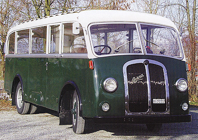 1948 Berna 1 UP 138 R1H Ramseier & Jenzer 5300cc 4cyl
