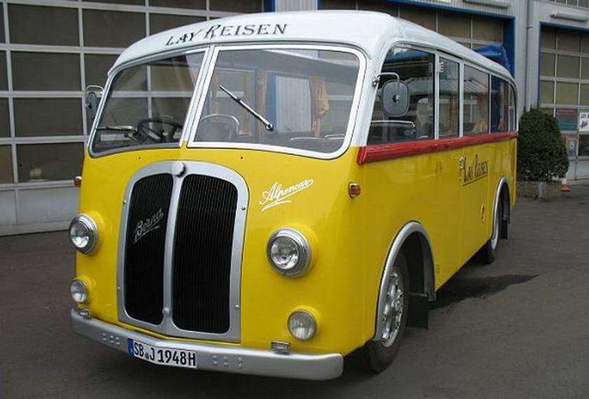 1948 Berna 1UP138-H 5320cc