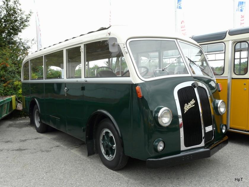 1948 Oldtimer Bus am Saurer Treff i