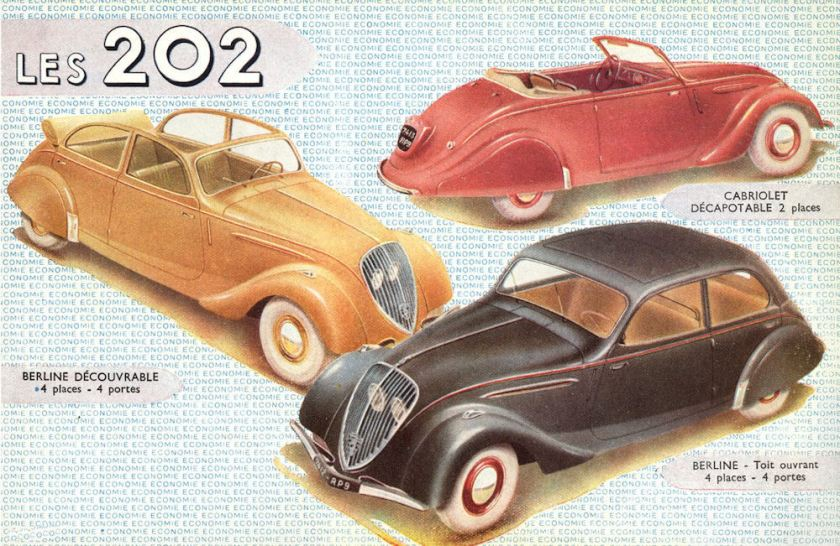 1948 peugeot 202 berline