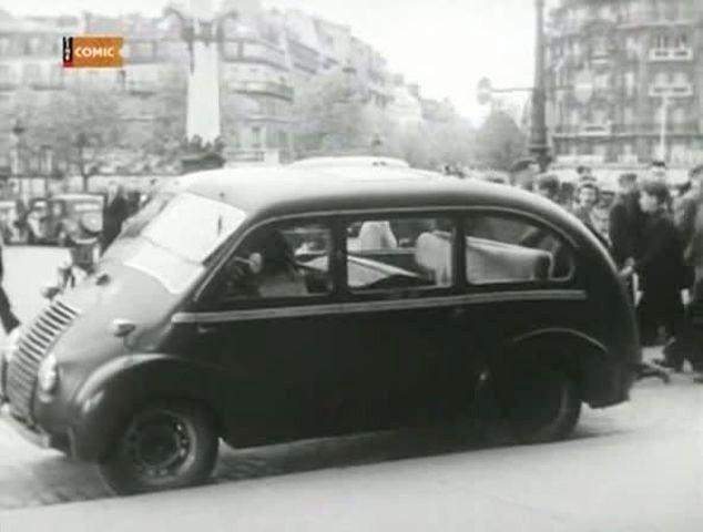 1948 Renault Juvaquatre Taxi 49 Rosengart