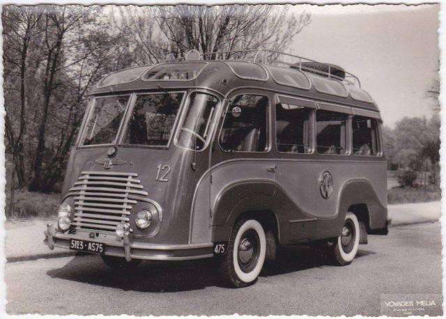1948 Renault Panorama bus