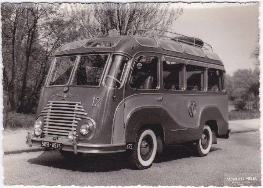 1948 Renault Panorama bus