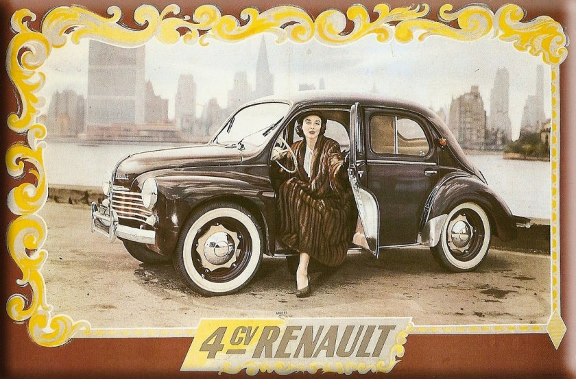 1949 4CV-Renault