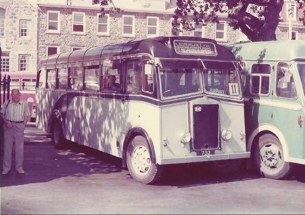 1949 Albion FT3AB with Reading B36F bodywork