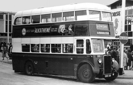 1949 Crossley DD42-5 with Reading H52R body EBK28 a