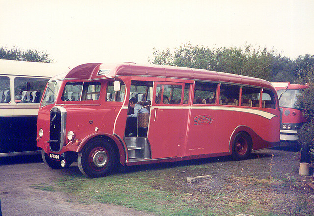 1949 Dennis Lancet III with Reading coachwork of Safeway Services of South Petherton photo 1