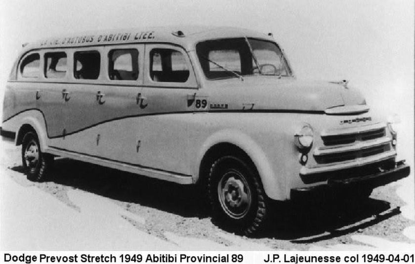 1949 Dodge PREVOST Stretch 6