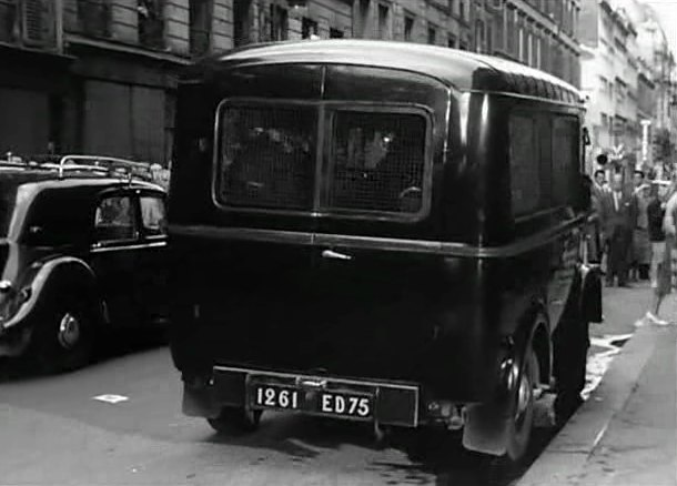 1949 Renault 1000 Kg Car Police [R2060]