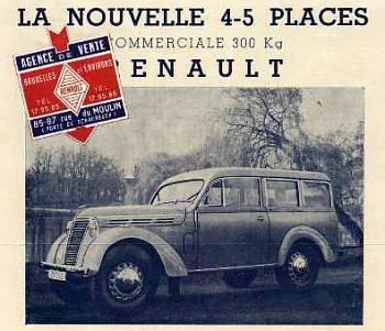 1949 renault 1949 300kg break