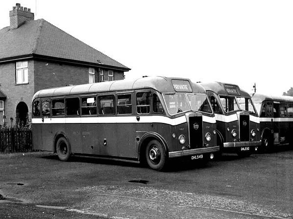 1950 2x Seddon Mk VI with Seddon B31F wr707