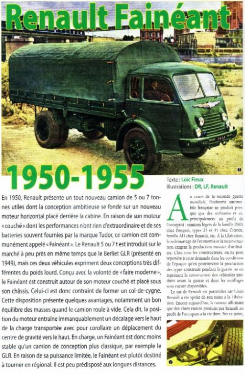 1950-55 Renault Fainéant
