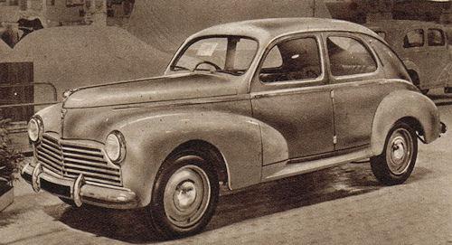 1950 peugeot 203
