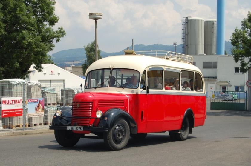 1950 Praga RND reg.značky 3A6 9276