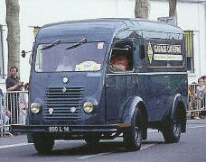 1950 Renault 1000kg R2060 Goelette