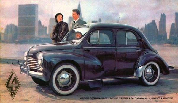 1950 Renault-4CV-France-1950