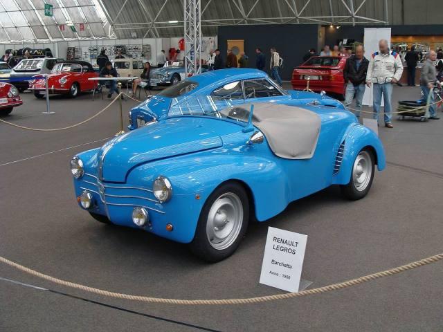 1950 Renault 4CV Legros Barchetta