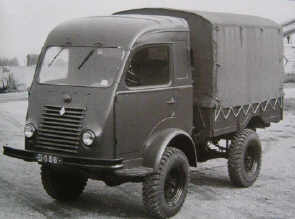1950 Renault 750kg 4x4 R2057