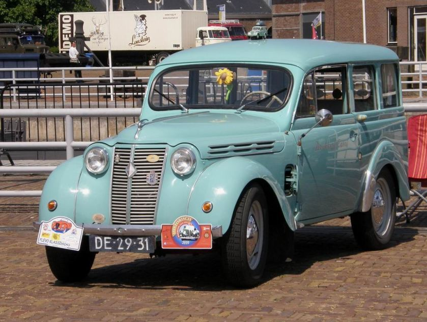 1950 Renault Camionette  Dauphinnoise