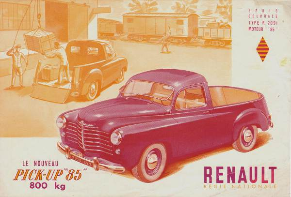 1950 Renault Colorale Prairie PickUp 50